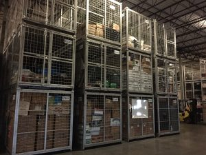 Military storage.