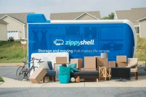 Zippy Shell trailer that our military movers use, and everything that can fit inside.