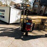 Onsite container our residential movers use to relocate your household items