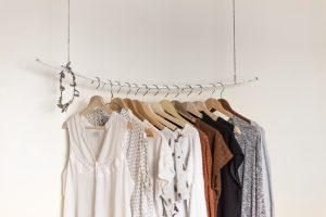 Clothes can be stored in short and long term storage