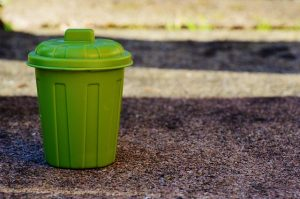 What packing materials should you use? Little green storage bin.