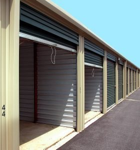 Residential storage units in Westerville Ohio.