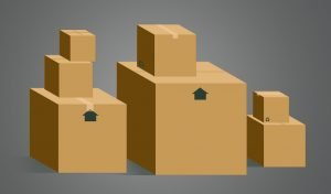 pack fragile items without stacking the boxes