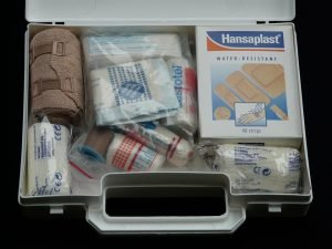 Your moving essentials box should contain one of these first aid kits.