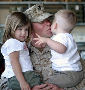 Our family man in the army