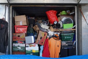a terribly packed storage unit