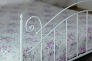 Bed footboard - don't forget to wrap it carefully when moving a bed frames and mattresses