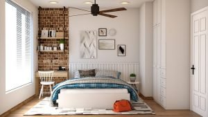Bedroom - Be careful when moving a bad frame and mattress