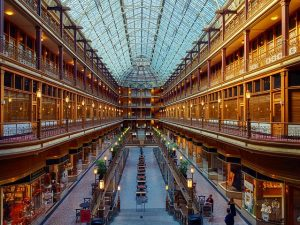 Cleveland shopping mall