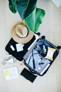 simplify packing for last minute move by putting your clothes in a suitcase