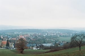 a small town in the countryside