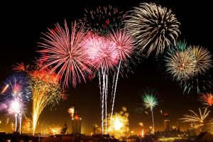 places in Ohio to celebrate New Year's Eve - Fireworks