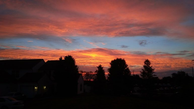 an ohio sunset