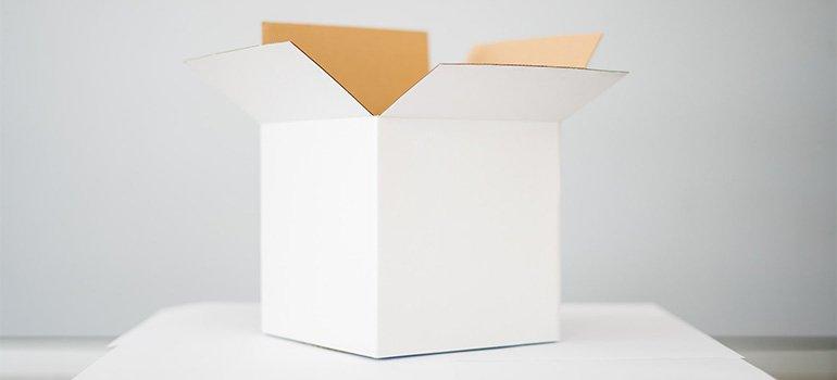 A white box