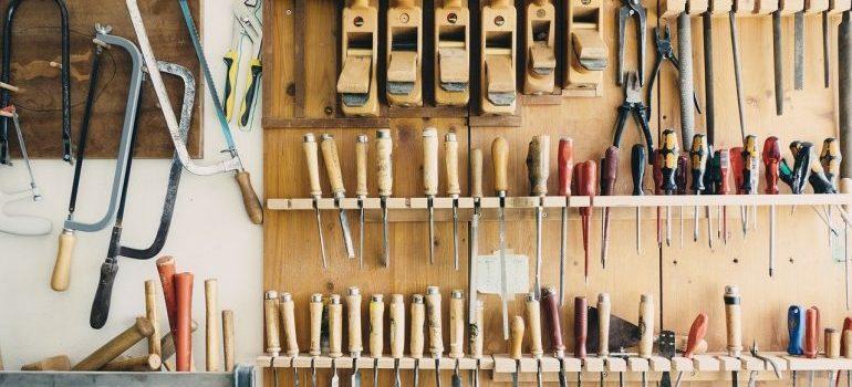 tools - renovate a garage