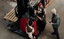-man working in the warehouse