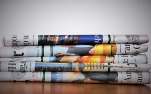 old newspapers you can use as Affordable options for packing expensive items