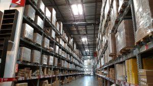 An inside of a storage unit