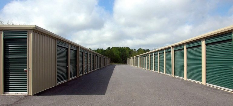 an outside view of the storage units