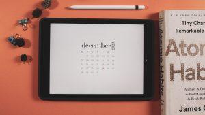 calendar december 2020