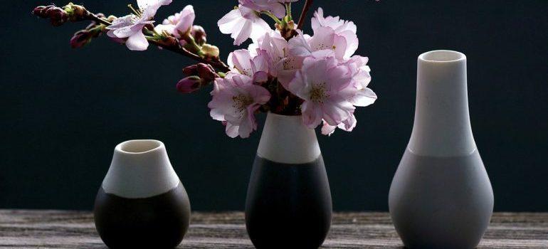 Storing glass vases long-term