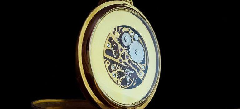 an antique watch