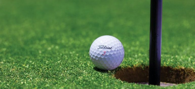 a stick and a ball for the golf present one of the things to do in Westerville this autumn